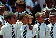 Schoolchildren in South Africa