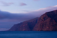 """The """"Gigantes"""", a big sea cliff in the South of Tenerife Island, Canary Islands, Spain."""