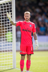 Dundee 1 v 2 Ross County, Scottish Premiership game played 5/8/2017 at Dundee's home ground Dens Park.