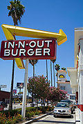In-n-Out Burger, Sunset Boulevard, Hollywood, Los Angeles, California, USA