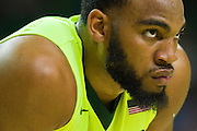 WACO, TX - MARCH 5: Rico Gathers #2 of the Baylor Bears looks on against the West Virginia Mountaineers on March 5, 2016 at the Ferrell Center in Waco, Texas.  (Photo by Cooper Neill/Getty Images) *** Local Caption *** Rico Gathers
