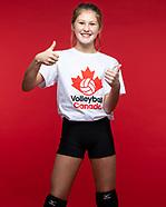 2020-10-28 VBALL Canada - Cerovac Sisters