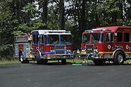 Middletown Fire Department wetdown