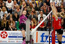 20150425 NED: Eredivisie VC Sneek - Eurosped, Sneek<br />Antoinette Posthuma, Eurosped<br />©2015-FotoHoogendoorn.nl / Pim Waslander