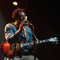 Olivier St Louis opening for Trombone Shorty live at Koko, Camden, 2013-10-01