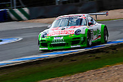 2012 British GT Championship.Donington Park, Leicestershire, UK.27th - 30th September 2012.Trackspeed Porsche...World Copyright: Jamey Price/LAT Photographic.ref: Digital Image Donington_BritGT-17922