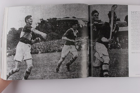 Limerick's John Mackey breaks through the TIpperary defence.