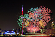 Canada Day 2015 Fireworks Toronto Ontario Canada