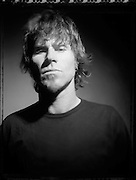 Mark Lanegan during a studio session with Queens of The Stone Age in Los Angeles, CA. 2004