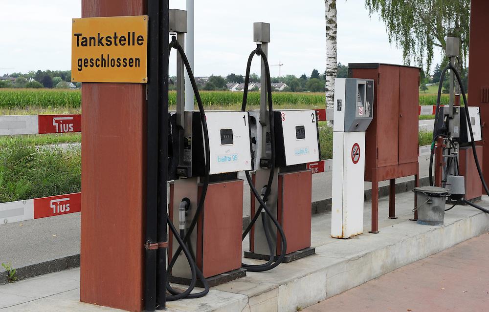 12.08.2016; Riedikon; Tankstelle an der Riedikerstrasse<br /> (Steffen Schmidt)
