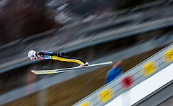 31.12.2015, Olympiaschanze, Garmisch Partenkirchen, GER, FIS Weltcup Ski Sprung, Vierschanzentournee, Qualifikation, im Bild Killian Peier (SUI) // Killian Peier of Switzerland during his Qualification Jump for the Four Hills Tournament of FIS Ski Jumping World Cup at the Olympiaschanze, Garmisch Partenkirchen, Germany on 2015/12/31. EXPA Pictures © 2015, PhotoCredit: EXPA/ JFK