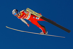 Kenneth Gangnes (NOR) during the Ski Flying Hill Team Competition at Day 3 of FIS Ski Jumping World Cup Final 2016, on March 19, 2016 in Planica, Slovenia. Photo by Grega Valancic / Sportida
