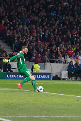 November 22, 2017 - Madrid, Madrid, Spain - Oblak..during Atletico de Madrid won by 2 to 0 whit goals of Griezmann and Gameiro against Roma. (Credit Image: © Jorge Gonzalez/Pacific Press via ZUMA Wire)