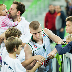 20151001: SLO, Basketball - ABA League 2015/16, KK Union Olimpija vs MZT Skopje Aerodrom