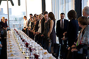 Per Kirkeby Opening Reception and Dinner. Tate Modern. 16 June 2009.