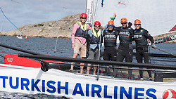 6th July 2017. GKSS Match Cup Sweden, Marstrand, Sweden. Pro Am sailing.