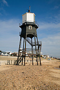 The Leading Lights, Victorian lighthouse structure, Dovercourt, Harwich, Essex, England