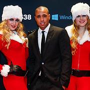 NLD/Amsterdam/20121222 - Inloop 538Jingleballs 2012, Bizzey Brooks en 2 kerstengelen