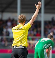 ANTWERP - BELFIUS EUROHOCKEY Championship. men  Ireland-Scotland (3-3). umpire Jonas van 't Hek.  WSP/ KOEN SUYK