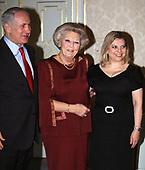 Netanyahu op audientie bij koningin Beatrix