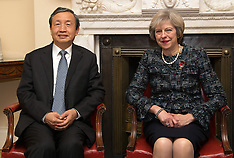 London: Chinese Vice Premier visit, 11 Nov. 2016