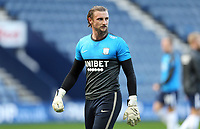 Preston North End's Declan Rudd during the pre-match warm-up <br /> <br /> Photographer Rich Linley/CameraSport<br /> <br /> The EFL Sky Bet Championship - Preston North End v Sheffield Wednesday - Saturday 21st November 2020 - Deepdale - Preston<br /> <br /> World Copyright © 2020 CameraSport. All rights reserved. 43 Linden Ave. Countesthorpe. Leicester. England. LE8 5PG - Tel: +44 (0) 116 277 4147 - admin@camerasport.com - www.camerasport.com