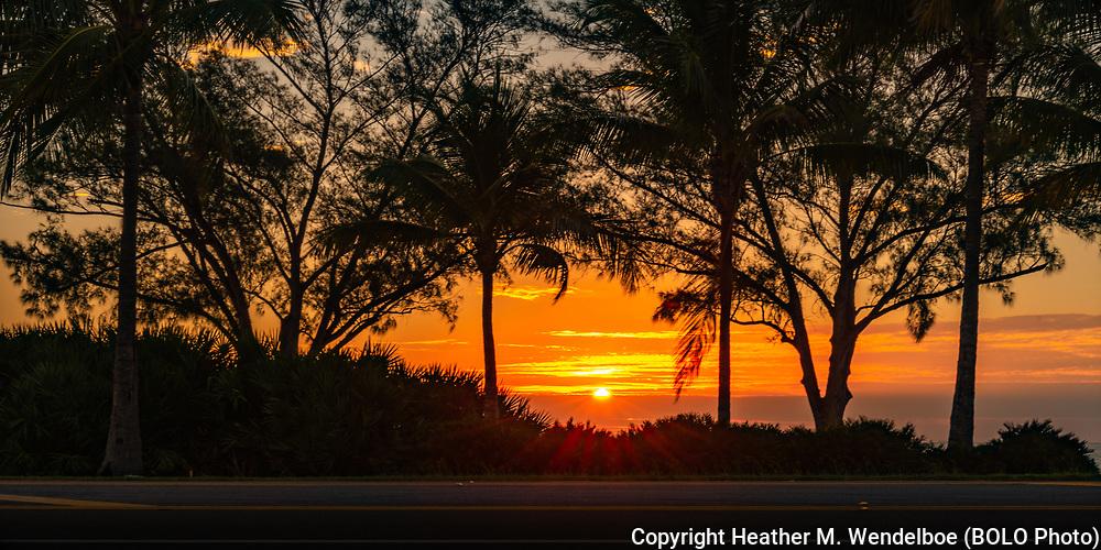 Sunrise<br /> November 30, 2020<br /> Sanibel Causeway in Fort Myers, Florida