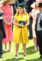 Sarah, Duchess of York during day four of Royal Ascot at Ascot Racecourse. Picture credit should read: Doug Peters/EMPICS