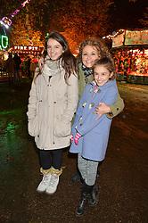 NADIA SAWALHA and her daughter MADDIE and KIKI-BEat the Hyde Park Winter Wonderland - VIP Preview Night, Hyde Park, London on 17th November 2016.NADIA SAWALHA and her daughter MADDIE and KIKI-BEE at the Hyde Park Winter Wonderland - VIP Preview Night, Hyde Park, London on 17th November 2016.
