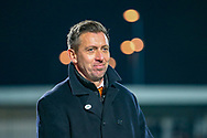 Barnet Manager Darren Currie before the The FA Cup fourth round match between Barnet and Brentford at The Hive Stadium, London, England on 28 January 2019.