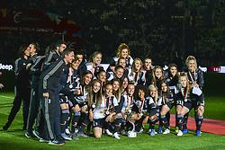 May 19, 2019 - Turin, Turin, Italy - Juventus Women celebrate the scudetto 2018-2019 at Allianz Stadium, Turin (Credit Image: © Antonio Polia/Pacific Press via ZUMA Wire)