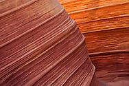 Navajo Sandstone strata of the Colorado Plateau at coyote buttes