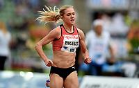 Friidrett , 9. juni 2016 , Diamond League , Bislett Games<br /> Athletics , <br /> Kristine Eikrem Engeset , NOR 1500 m