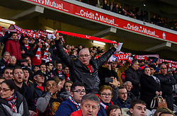 March 3, 2019 - Lille, France - Supporters de l equipe LOSC - ambiance (Credit Image: © Panoramic via ZUMA Press)
