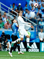 Lucas Torreira (Uruguay) Antoine Griezmann (France)<br /> Nizhny Novgorod 06-07-2018 Football FIFA World Cup Russia  2018 Uruguay - France / Uruguay - Francia <br /> Foto Matteo Ciambelli/Insidefoto