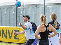 AMSTELVEEN -  assistent-coach Teun de Nooijer (Ger) tijdens de halve finale-wedstrijd dames, Duitsland-Spanje (4-1)  bij het  EK hockey , Eurohockey 2021. COPYRIGHT KOEN SUYK