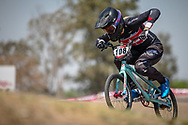 #108 (HEBERT Avriana) CAN during practice at Round 9 of the 2019 UCI BMX Supercross World Cup in Santiago del Estero, Argentina