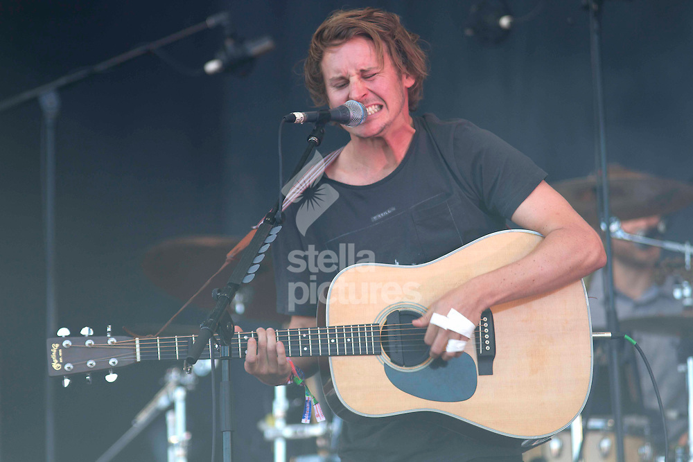 Picture by Sophie Elbourn/Stella Pictures Ltd +447595 944177<br /> 29/06/2013<br /> Ben Howard performs during day three of Glastonbury Festival at Worthy Farm, Pilton.