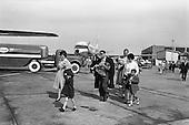 C168 - 1962 Cuban refugees at Dublin Airport