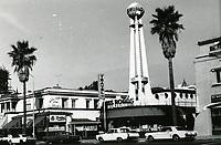 1970 Crossroads of the World on Sunset Blvd.