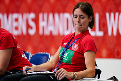 11-12-2019 JAP: Norway - Germany, Kumamoto<br /> Last match Main Round Group1 at 24th IHF Women's Handball World Championship, Norway win the last match against Germany with 32 - 29. / Ass coach Debby Klein of Germany