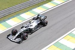 November 17, 2019, Sao Paulo, Brazil: VALTTERI BOTTAS, of Mercedes AMG Petronas drives during the Formula One Grand Prix of Brazil 2019 at Interlagos circuit, in Sao Paulo, Brazil. (Credit Image: © Paulo Lopes/ZUMA Wire)