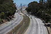 New Bike Lane on Northbound Side of San Jose Avenue   June 12, 2014