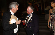 Henry Wyndham and Lord Michael Pratt, Belle Epoche gala fundraising dinner. National Gallery. 16 March 2006. ONE TIME USE ONLY - DO NOT ARCHIVE  © Copyright Photograph by Dafydd Jones 66 Stockwell Park Rd. London SW9 0DA Tel 020 7733 0108 www.dafjones.com