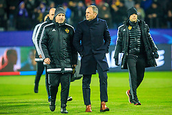 Zlatko Zahovic and Darko Milanic, head coach of NK Maribor during Group E football match between NK Maribor and FC Sevilla in 6th Round of UEFA Champions League, on December 6, 2017 in Ljudski vrt, Maribor, Slovenia. Photo by Ziga Zupan / Sportida