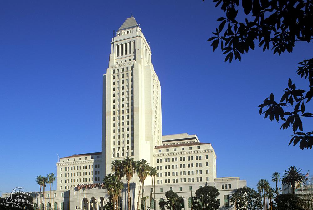 City Hall, Downtown Los Angeles, California (LA)