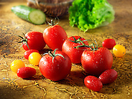 Mixed tomatoes photos, pictures & images