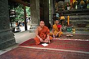 Monks - Temple at Angkor