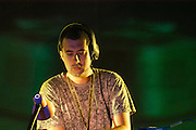 Dave Clarke performing at the Monegros festival in 2005