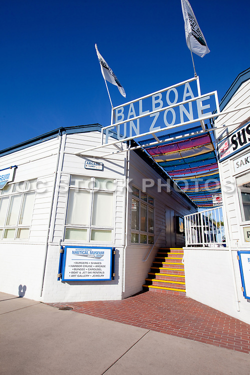 Balboa Fun Zone In Newport Beach